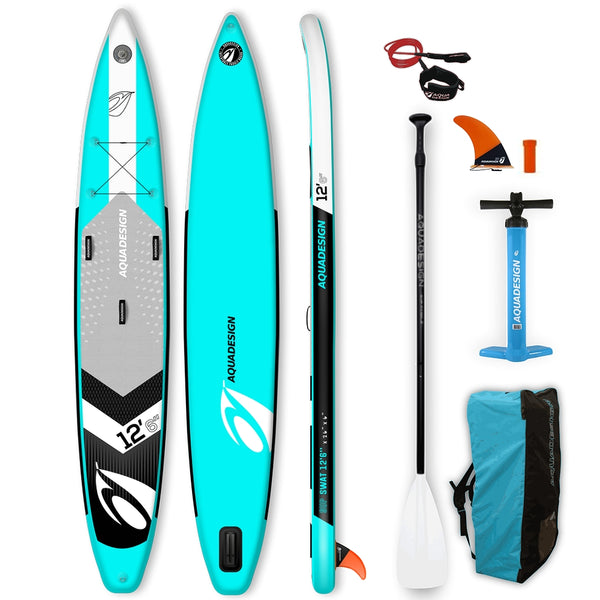 Aquadesign SWAT 12.6 Stand Up Paddle Gonflable-Stand Up Paddle Gonflable-AQUADESIGN