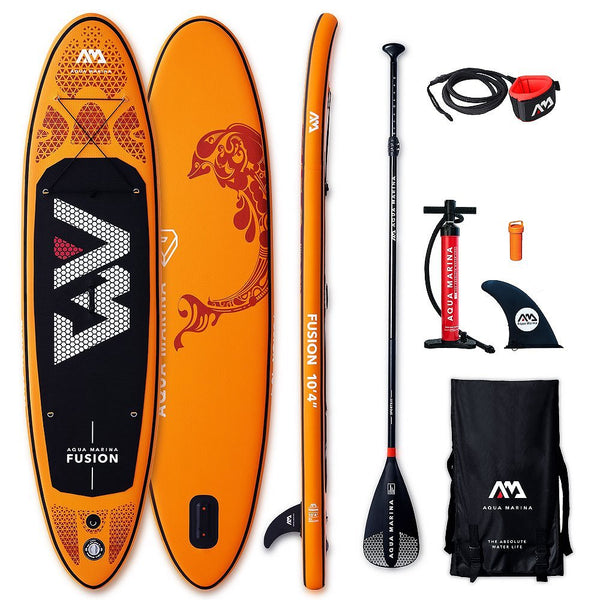 Paddle Aqua Marina FUSION 10.4 Sup Gonflable - 2019-Stand Up Paddle Gonflable-All SUP Boards | All Stand-Up Paddle Boards