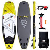 Paddle Aqua Marina RAPID 9.6 Sup Surf Gonflable Riviére - 2019