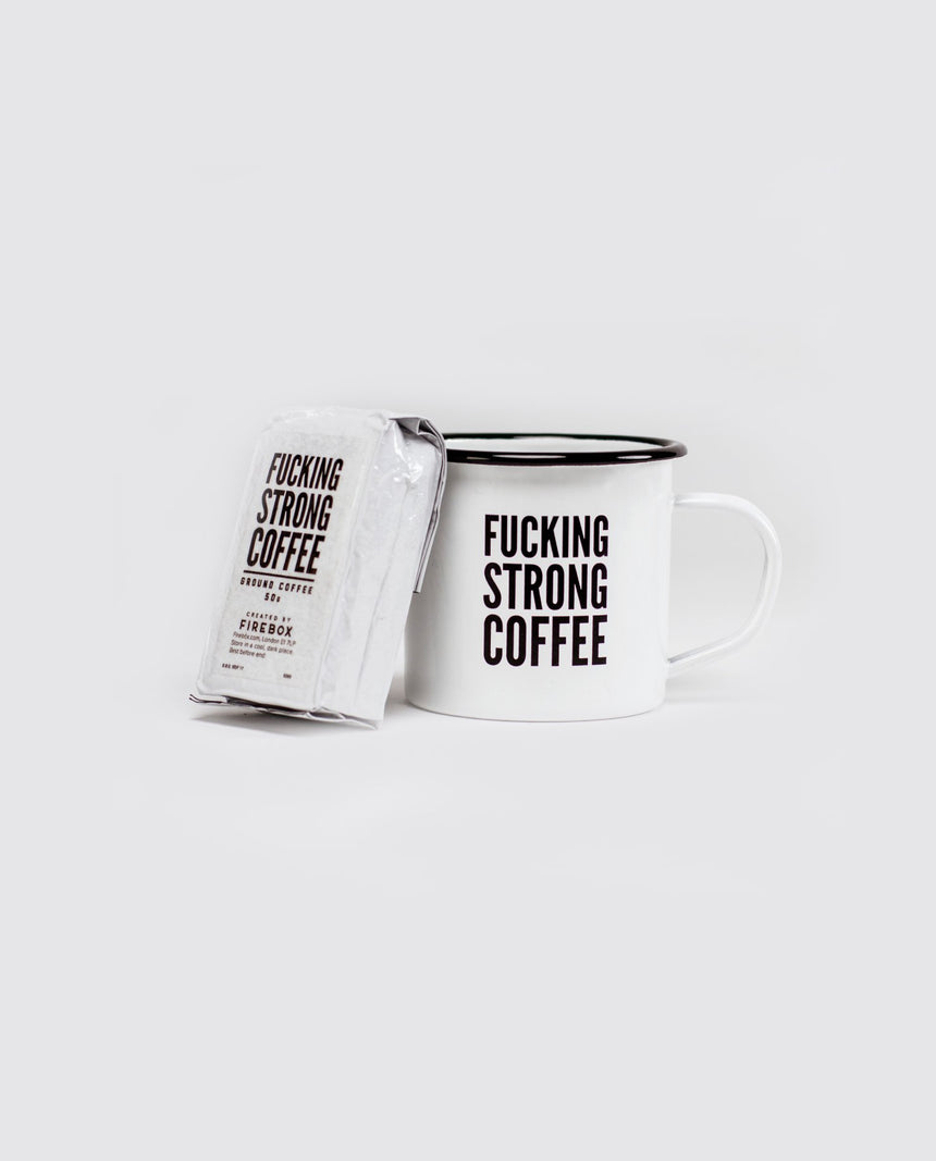 F*cking Strong Coffee Set by Driftroom