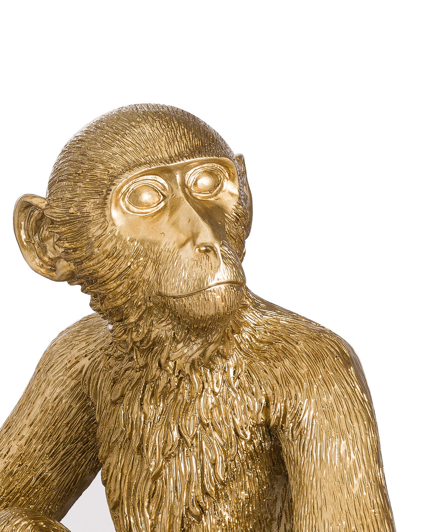 George Golden Monkey Table Lamp
