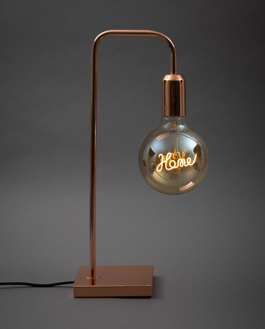 Copper Tubular Lamp
