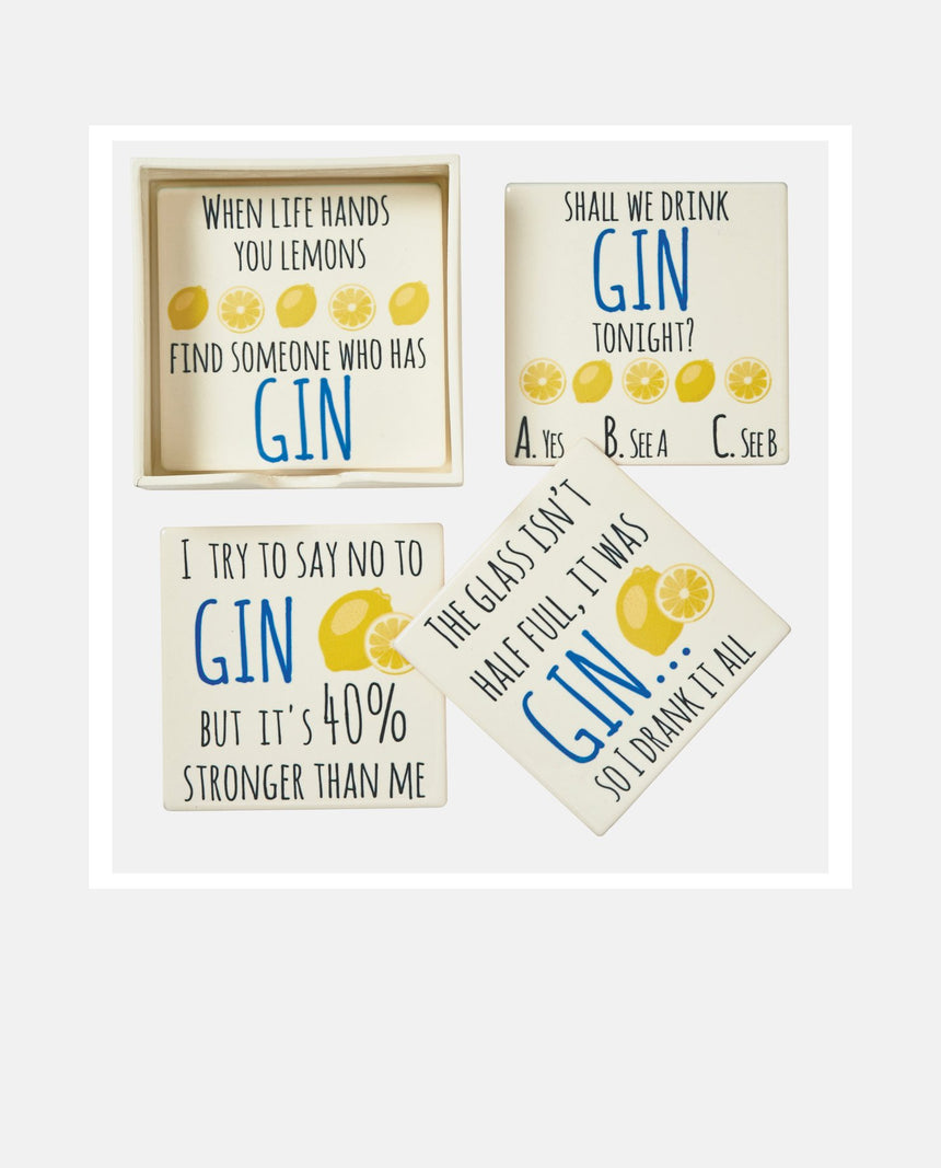 Coaster: Gin Set by Driftroom