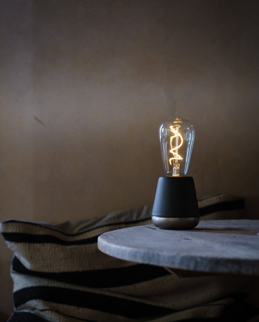 Grey Humble Wireless Lamp
