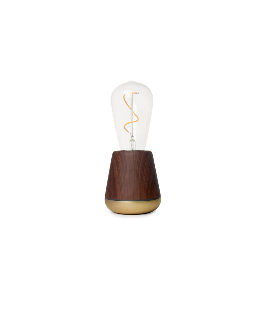 Walnut Humble Wireless Lamp