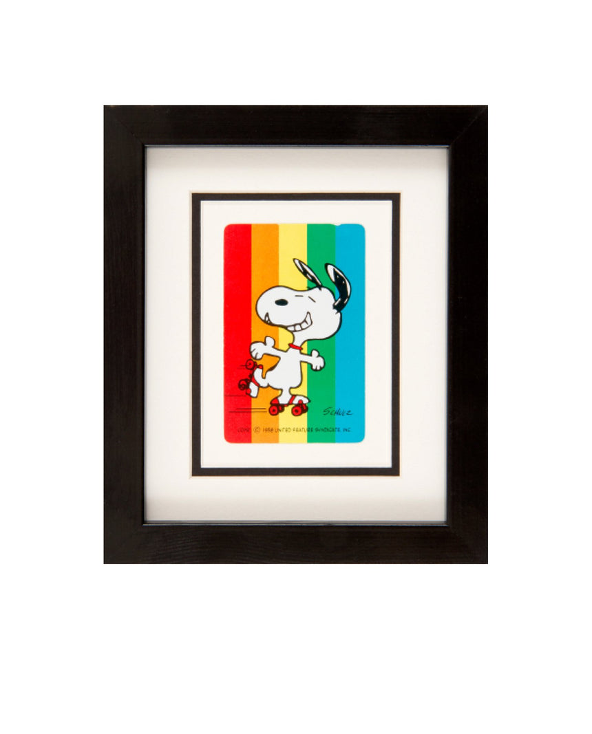 Snoopy Vintage Cards - Happy Snoopy by Driftroom