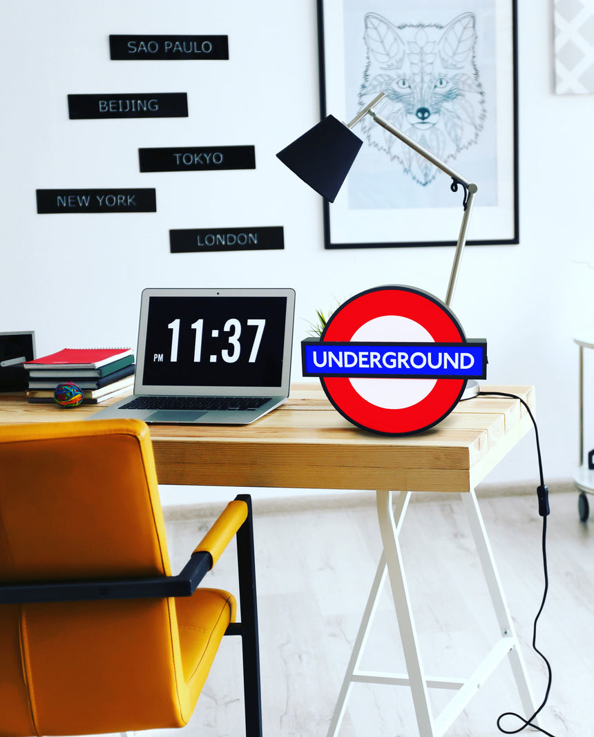Official Large London Underground Lightbox