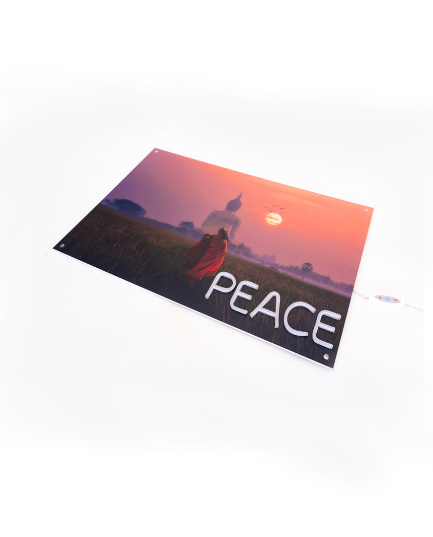 Peace Neon Wall Art
