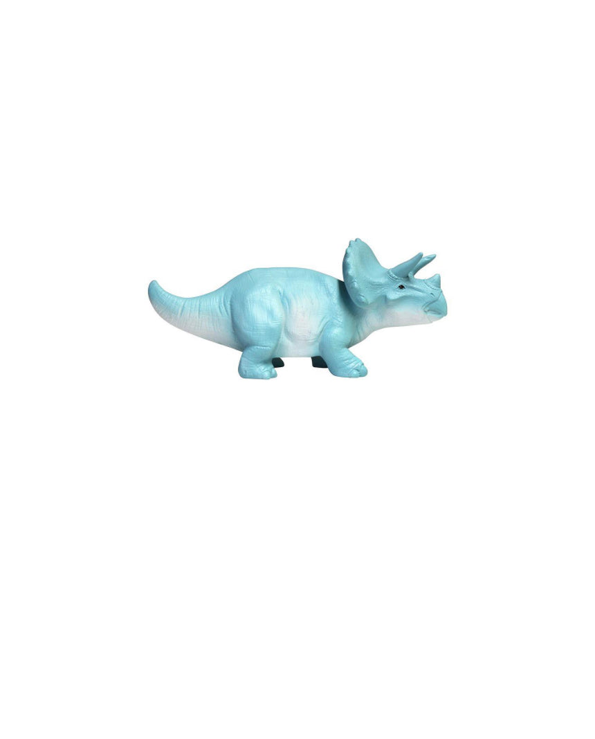 Small Turquoise Triceratops Light by Driftroom