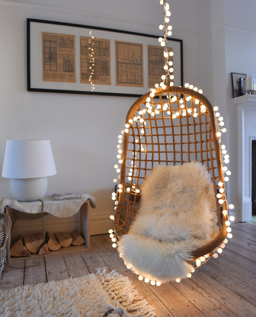 LED Pom Pom Lights by Driftroom