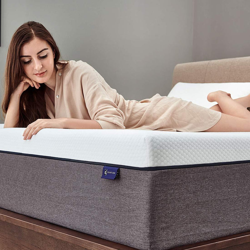 "D DHOUSE 12"" Cooling Gel Hybrid Memory foam Mattress."