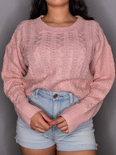Load image into Gallery viewer, Bubblegum Knit Sweater