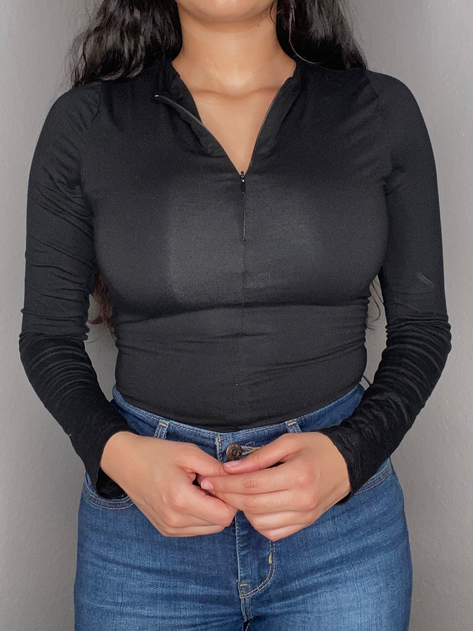 Zip Me Up Long Sleeve Bodysuit
