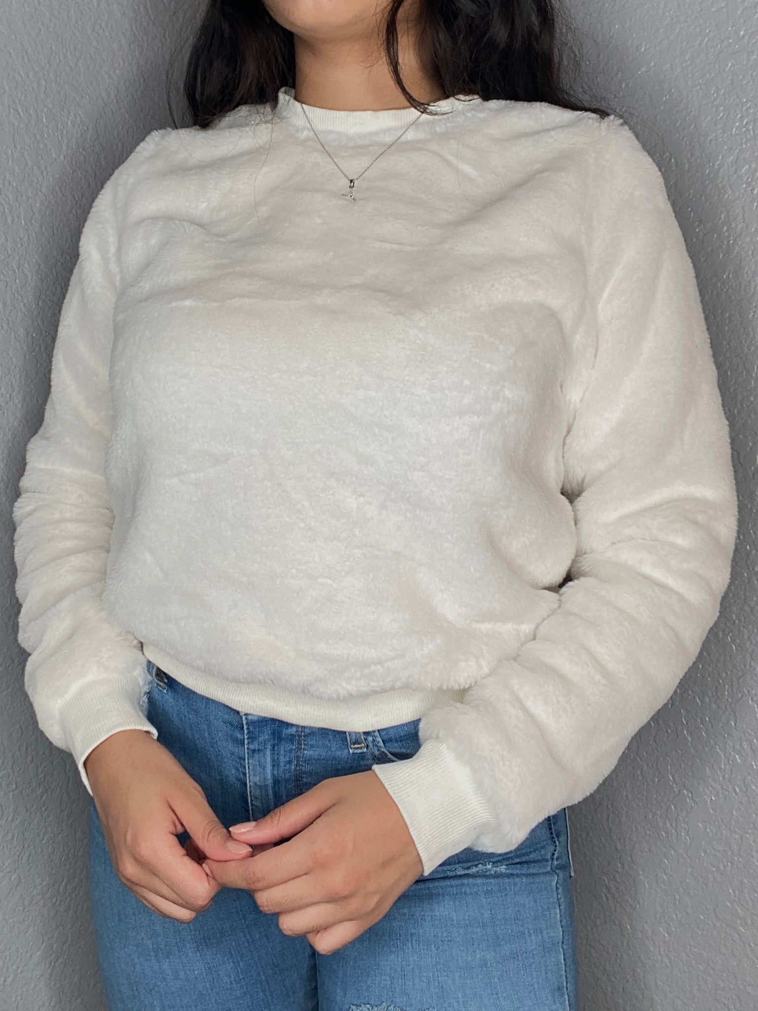 Vanilla Cream Sweater Top