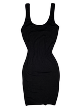 Load image into Gallery viewer, Black Out Dress