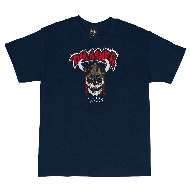 Thrasher Lotties T-shirt (Navy)
