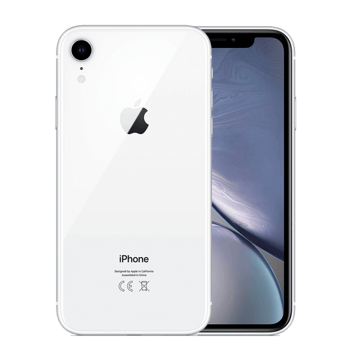 Apple iPhone XR 64GB Blanco Bueno - Orange