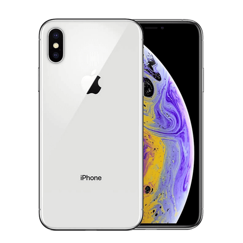 Apple iPhone XS 64GB Plata Bueno - Orange