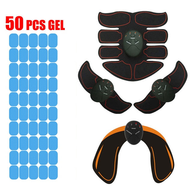 EMS Body Overhaul Set + 50 Gel Pads
