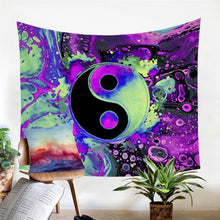 Load image into Gallery viewer, Alien, Yin & Yang Tapestry
