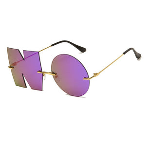 """NO Means NO"" Sunglasses"