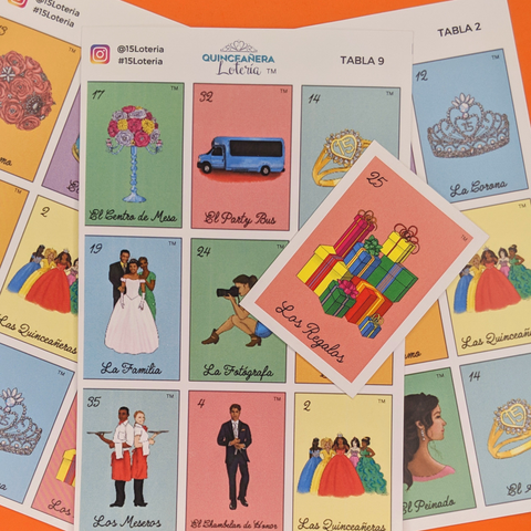 Image of Quinceañera Lotería (Single)