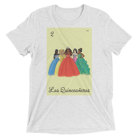 NEW Las Quinceañeras - Unisex Tri-Blend Short sleeve T-Shirt
