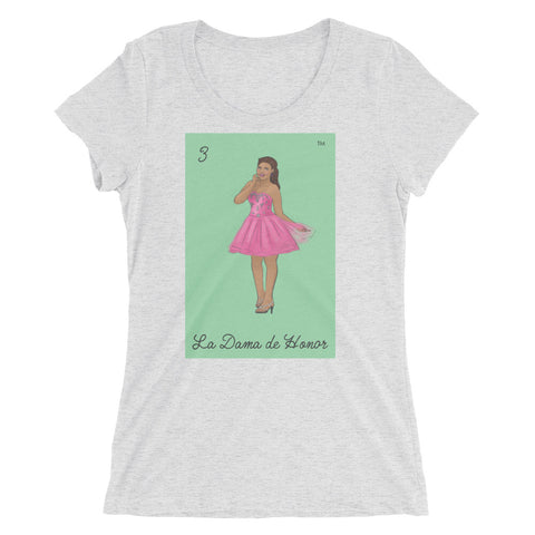 NEW La Dama de Honor - Ladies' short sleeve t-shirt