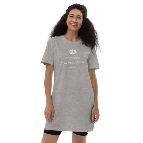 Quarantined Quinceañera - Organic cotton t-shirt dress