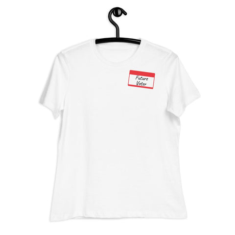 Image of Future Voter - Women's Relaxed T-Shirt