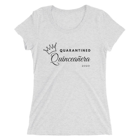 Image of Quarantined Quinceañera - Ladies' short sleeve t-shirt