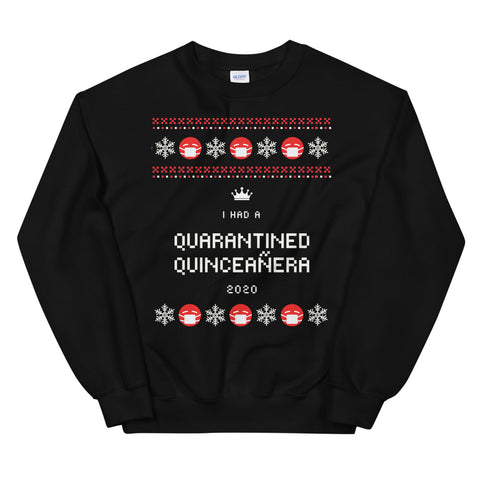 Ugly Christmas Sweater - 2020 Quinceañera Sweatshirt