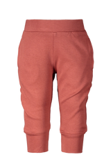 Loose fit pants Marsala
