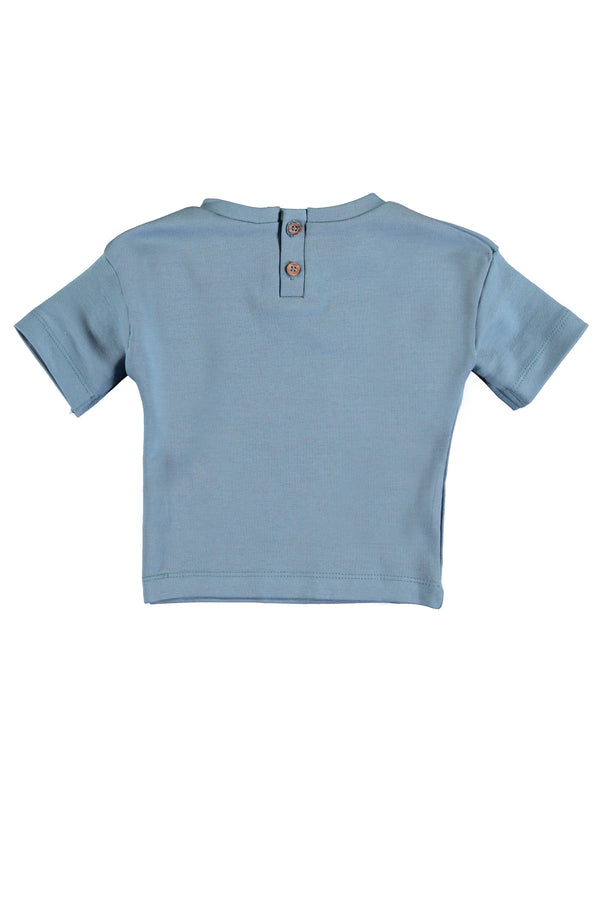 Tee short sleeve Captain blue
