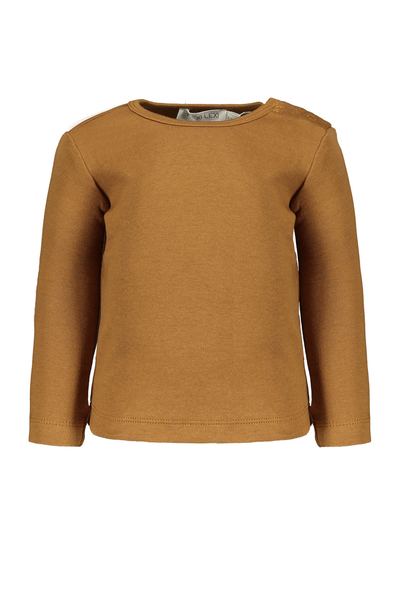 Tee long sleeve Mustard