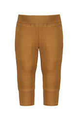 Loose-fit pants Mustard