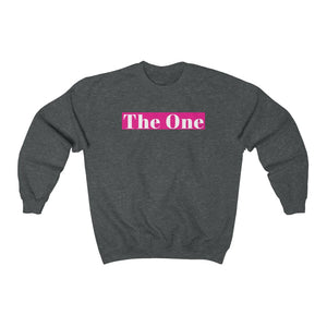 Unisex Sweatshirt - The One - Pink
