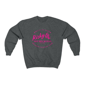 Unisex Sweatshirt - The Fighter - Pink