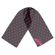 Load image into Gallery viewer, Scarf - Pink & Black