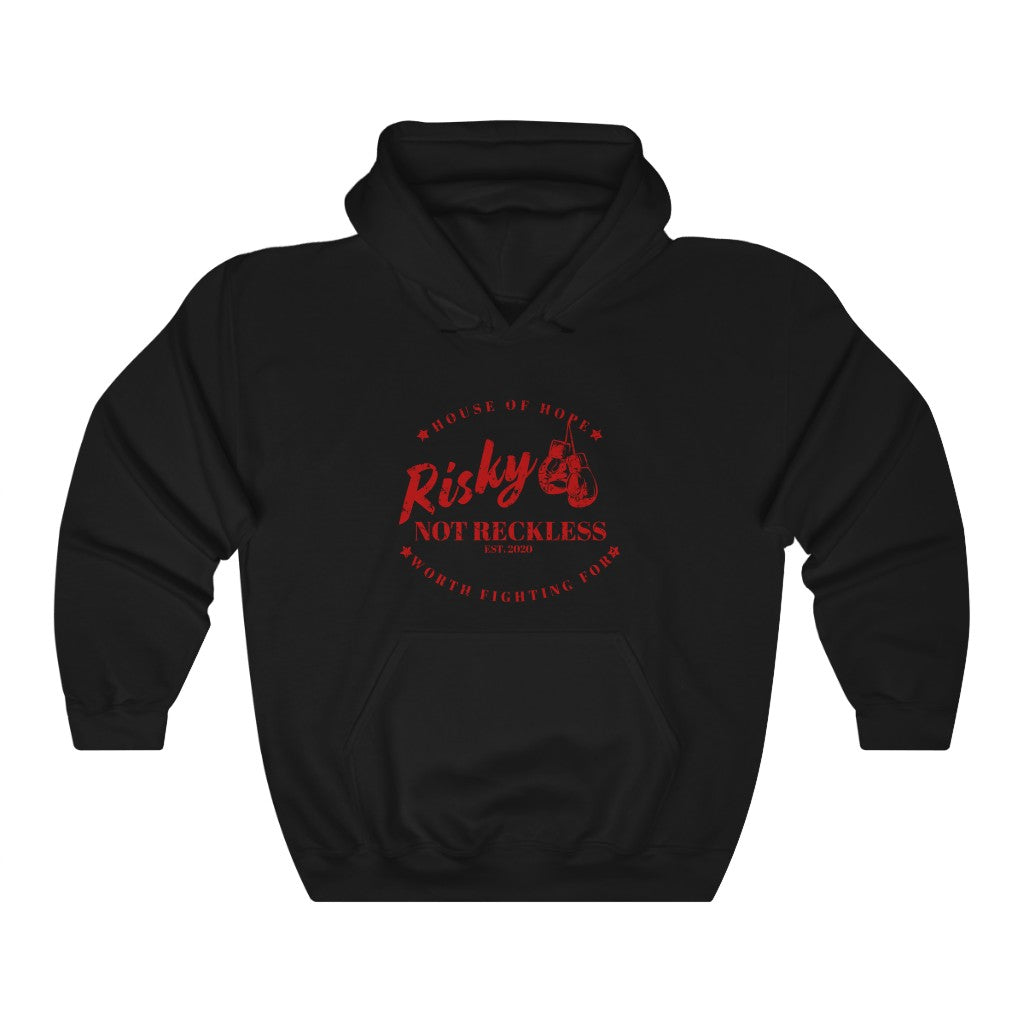 Unisex Hoodie - The Fighter - Red