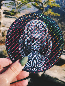 Portal Prism Holographic Sticker