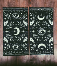 "Load image into Gallery viewer, Moon Child Tube Bandana - 9"" x 18"" Protective Face Covering  - Limited Edition"
