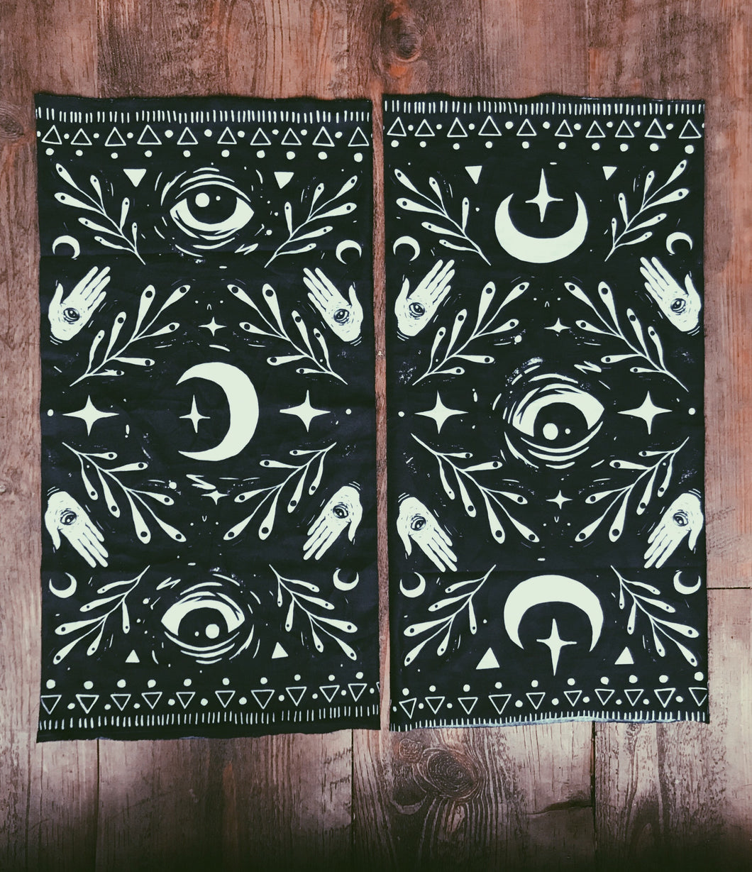 "Moon Child Tube Bandana - 9"" x 18"" Protective Face Covering  - Limited Edition"