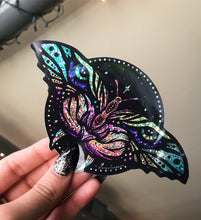 Load image into Gallery viewer, Tiger Moth Glitter Sticker