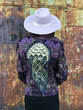 Load image into Gallery viewer, Jellyfish Gold Purple Patchwork Jacket - Medium/Large