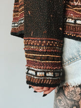Load image into Gallery viewer, Vintage Beaded Embroidered Silk Desert Jacket