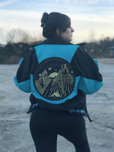 Reversible Desert Vintage Denim Jacket - Unisex Small