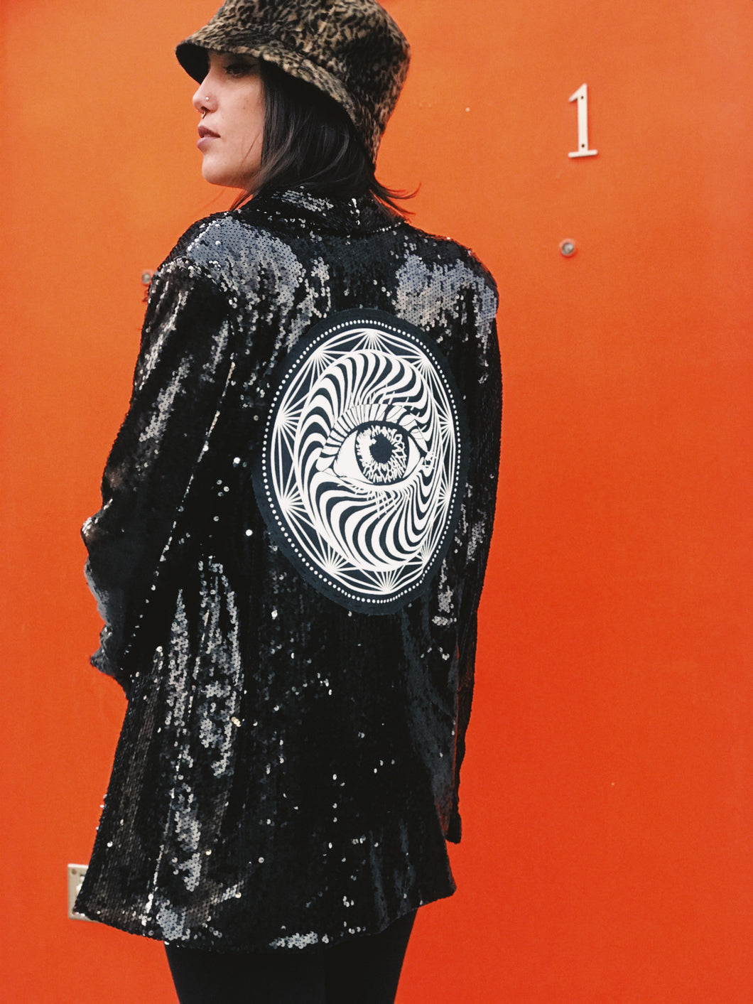 Sequin Eye Jacket