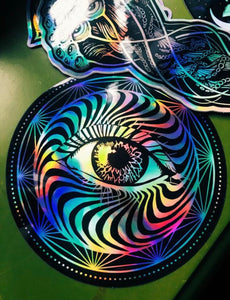 Eye Holographic Sticker