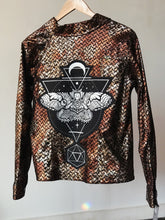 Load image into Gallery viewer, Moth Metallic Copper Jacket - Small/Medium